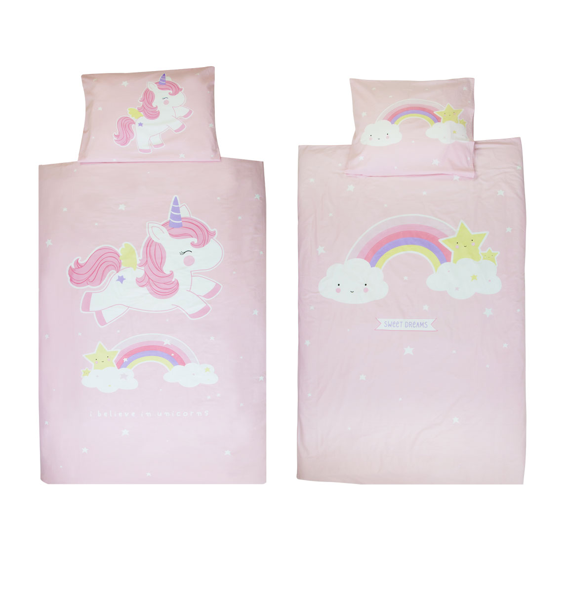 Funda edredón unicornio A Little-Betina Shop_alzado